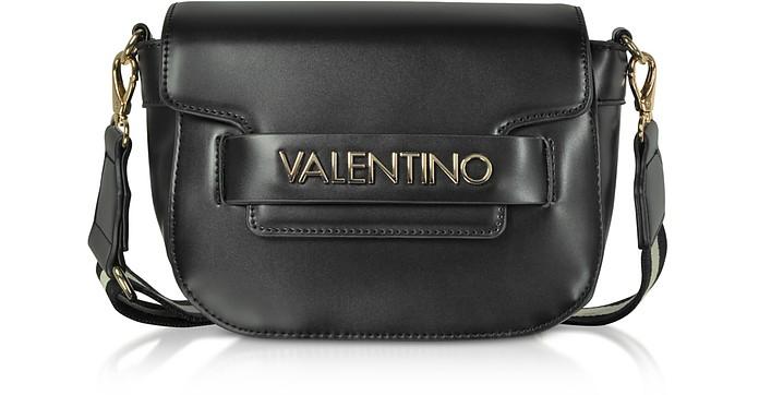 Eco Leather Blast Small Shoulder Bag w Canvas Strap - Valentino by Mario  Valentino ebd9b30431f02