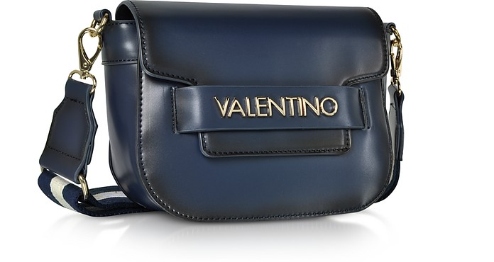 d79fec531d1c Eco Leather Blast Small Shoulder Bag w Canvas Strap - Valentino by Mario  Valentino. Sold Out