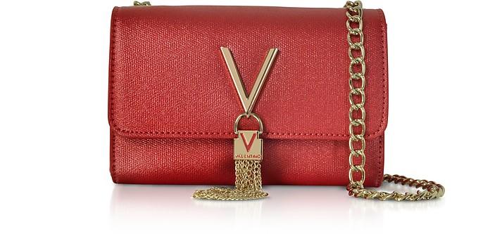 Eco Grained Leather Marilyn Mini Shoulder Bag - Mario Valentino