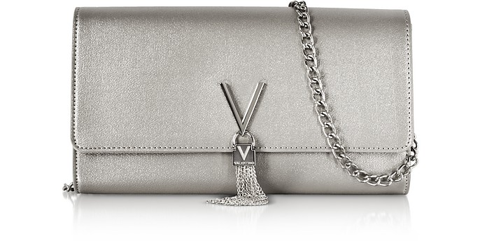 Eco Grained Leather Marilyn Shoulder Bag  - Valentino by Mario Valentino
