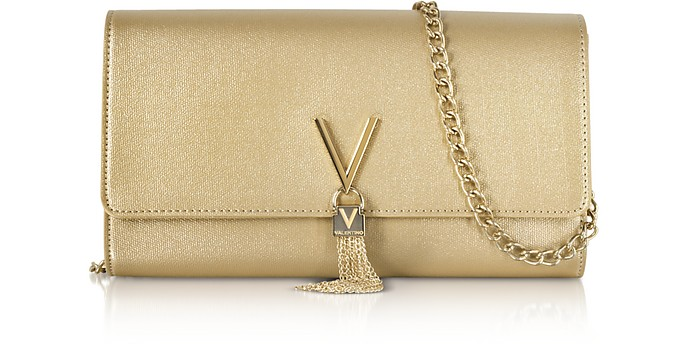 d11ac072f6ac Valentino By Mario Valentino Eco Grained Leather Marilyn Shoulder ...