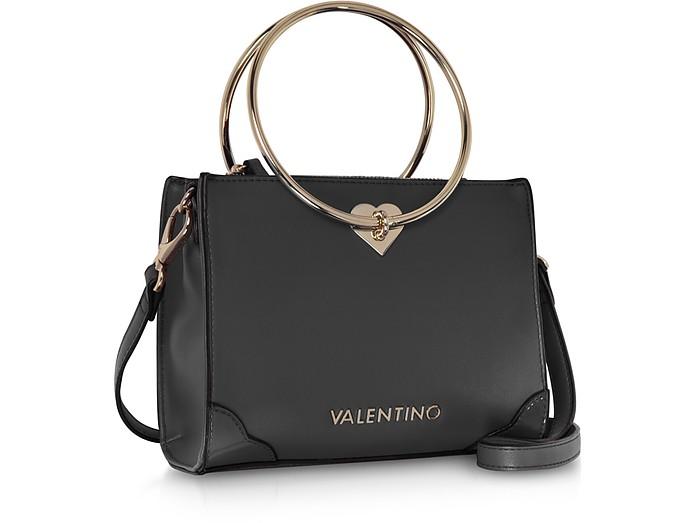 5bef239d98 Eco Leather Aladdin Small Tote Bag w Detachable Shoulder Strap - Valentino  by Mario Valentino.  135.00  270.00 Actual transaction amount