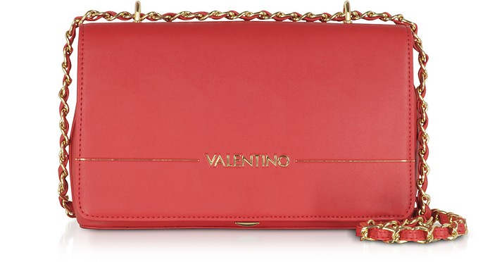 Jingle Signature Eco Leather Clutch - VALENTINO by Mario Valentino