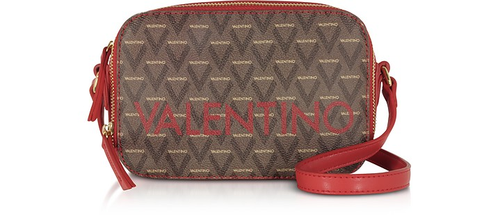 Liuto Signature  Eco Leather Camera Bag - Valentino