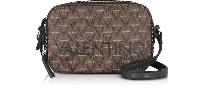 Liuto Signature Eco Leather Camera Bag - VALENTINO by Mario Valentino