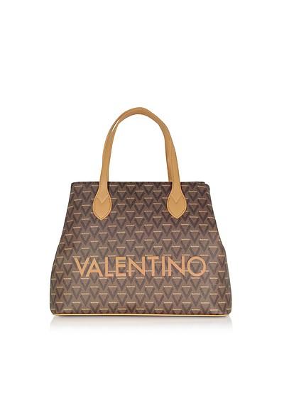 Liuto Signature  Eco Leather Tote Bag - Valentino by Mario Valentino