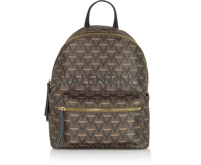 Liuto Signature Eco Leather Backpack - Mario Valentino