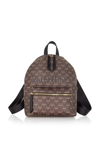 Liuto Signature Eco Leather Backpack - Valentino by Mario Valentino