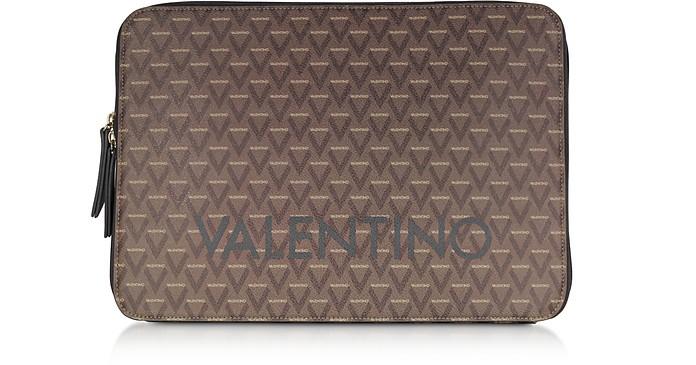 "Liuto Signature Eco Leather Laptop Case 15"" - VALENTINO by Mario Valentino"