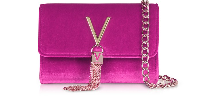 Marilyn Velvet Small Shoulder Bag - Valentino by Mario Valentino