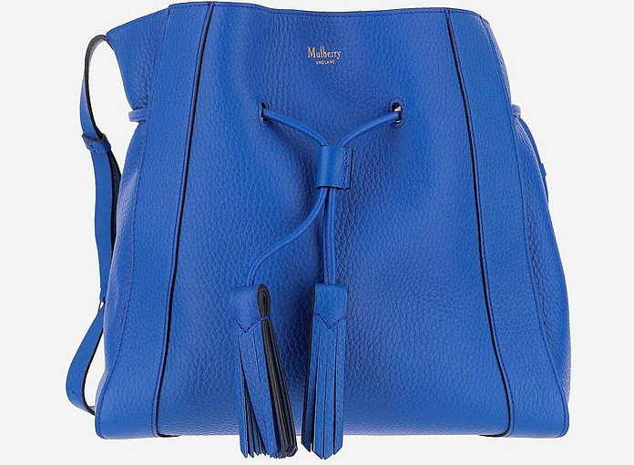 Blue Millie Bucket Bag - Mulberry