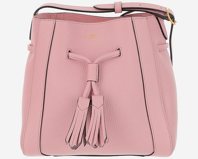 Pink Leather Millie Bucket Bag - Mulberry