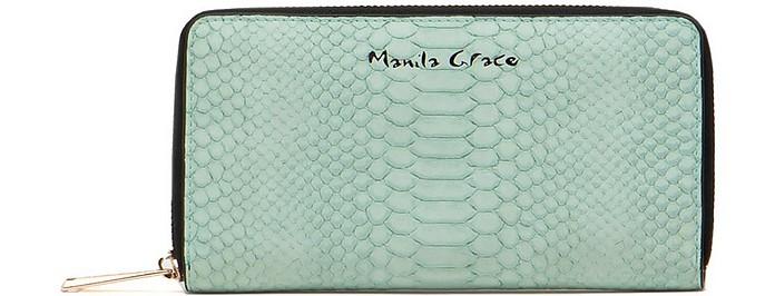 Women's Green Wallet - Manila Grace