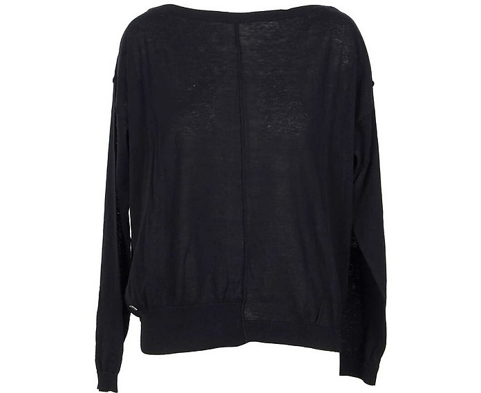 Back Cotton Women's Sweater - Manila Grace
