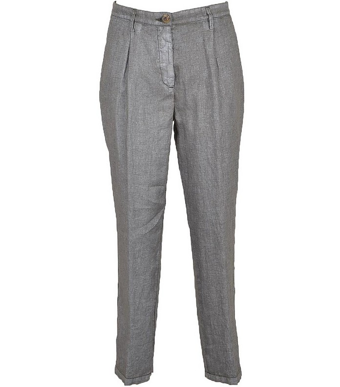 Women's Gray Pants - Manila Grace