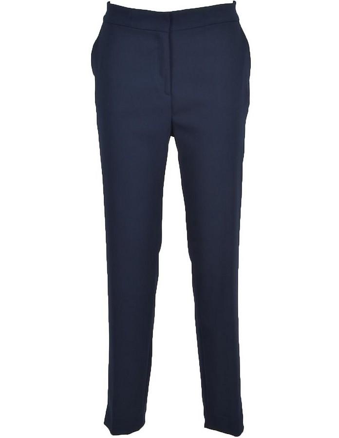 Women's Blue Pants - Manila Grace