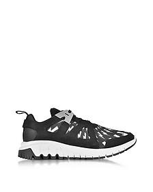 Molecular Runner Sneaker aus Neopren und Nylon in schwarz - Neil Barrett