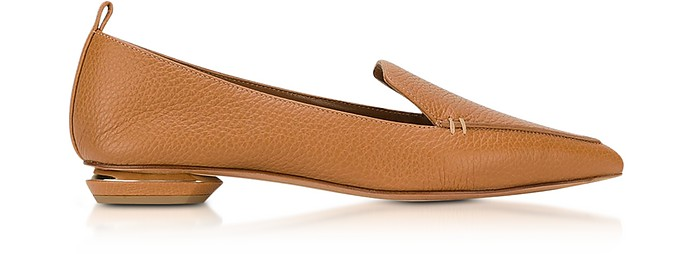 Beya Tan Leather Loafer - Nicholas Kirkwood