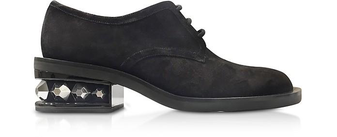 Black 35mm Suzi Derby Shoes - Nicholas Kirkwood