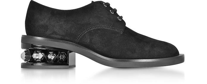 Suzi 35mm Derby Schuhe in schwarz - Nicholas Kirkwood