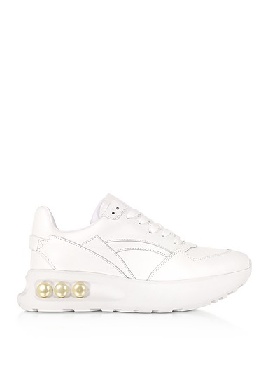 30mm NKP3 Lace Up Sneakers Blanches - Nicholas Kirkwood