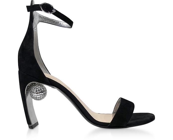 Black 90mm Maeva Sandals - Nicholas Kirkwood