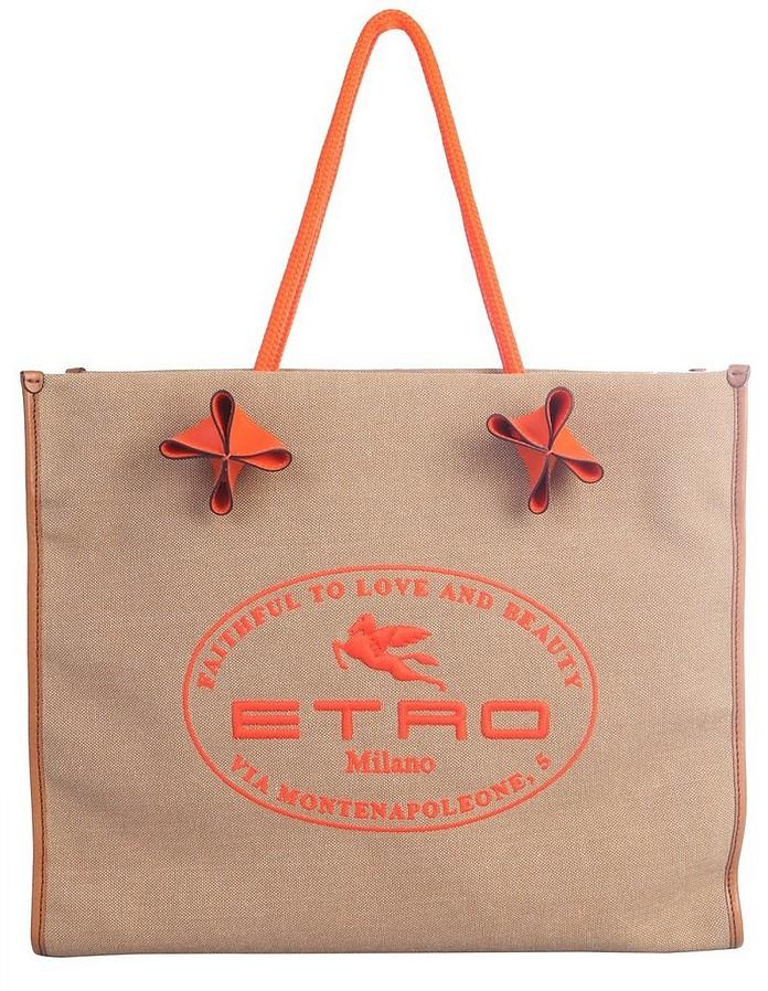 Shopper Bag With Logo - STAND STUDIO