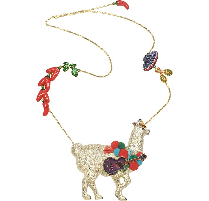 Les Mechamment Joyeux  - Pepito Long Necklace - N2