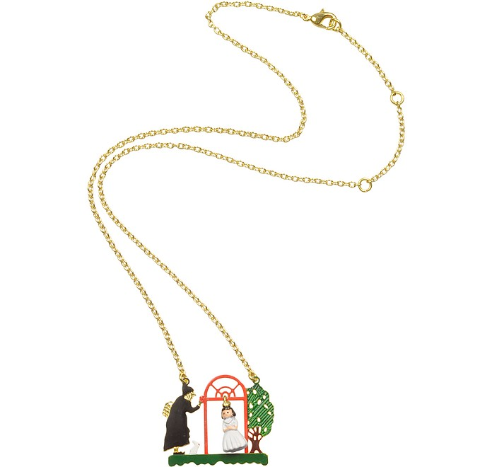 Les Contes - Snow White and the Evil Queen Necklace   - N2