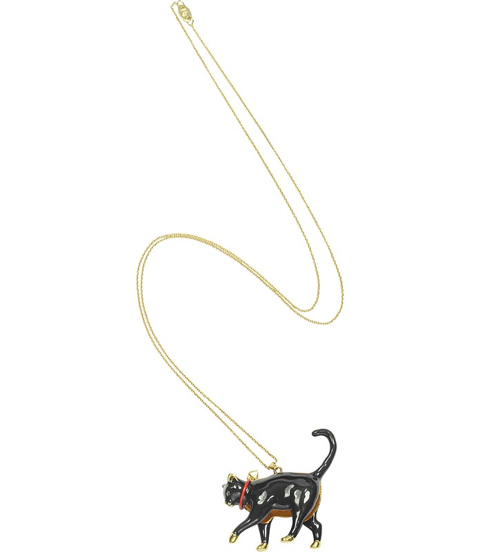 Chat Noir - Long Necklace - N2
