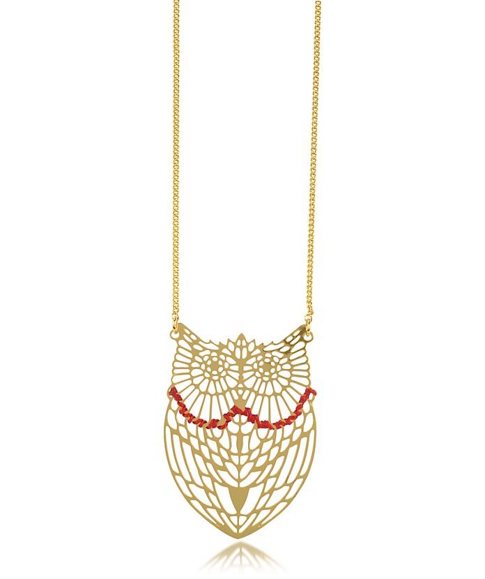 Empreintes Owl Long Necklace - Les Nereides