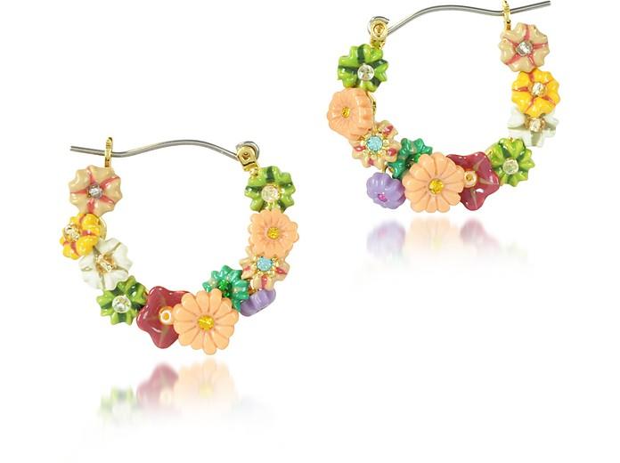 Cite Imaginaire Flower Earrings - Les Nereides