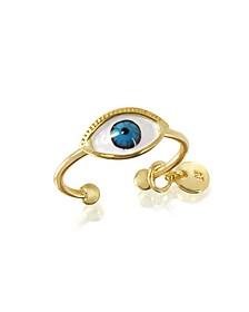 Bijoux Miniatures Eye Ring