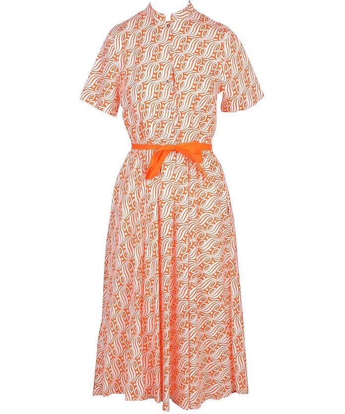 Women's Orange Dress - Niu