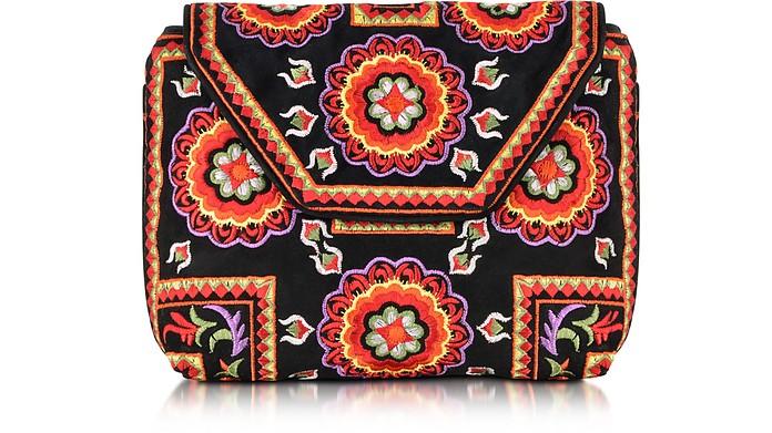 Badra Small Black Pouch  - Antik Batik