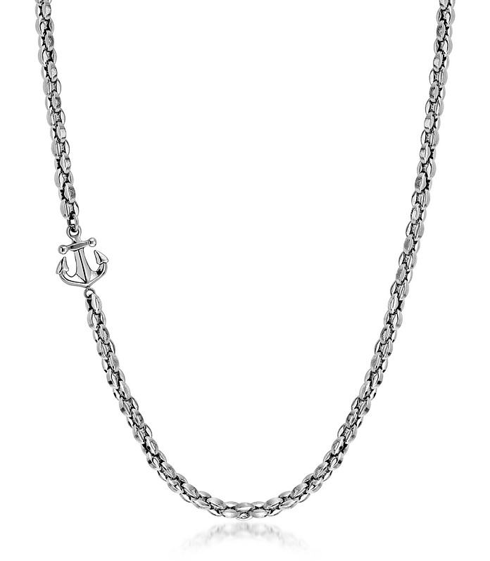Stainless Steel Men's Atlante Necklace W/Anchor - Nomination