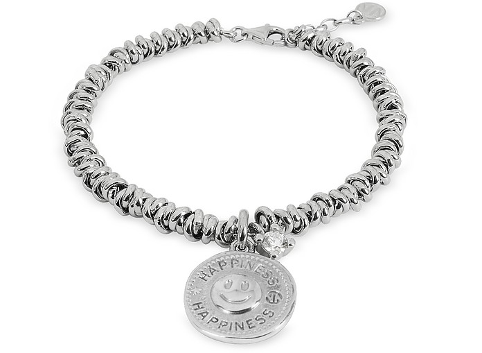 Sterling Silver Happiness Charm Bracelet - Nomination
