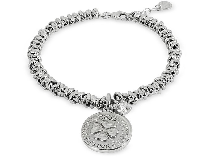 Sterling Silver Good Luck Charm Bracelet - Nomination