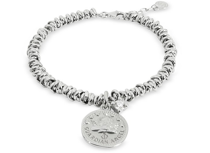 Sterling Silver Guardian Angel Charm Bracelet - Nomination
