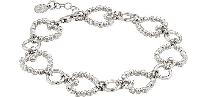 Rock In Love Heart Chain Bracelet - Nomination