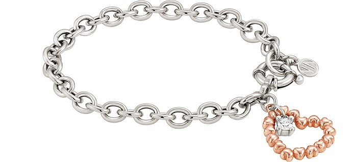 Rock in Love Bracelet w/Heart Pendant - Nomination