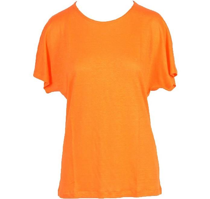 Women's Orange T-Shirt - Gran Sasso