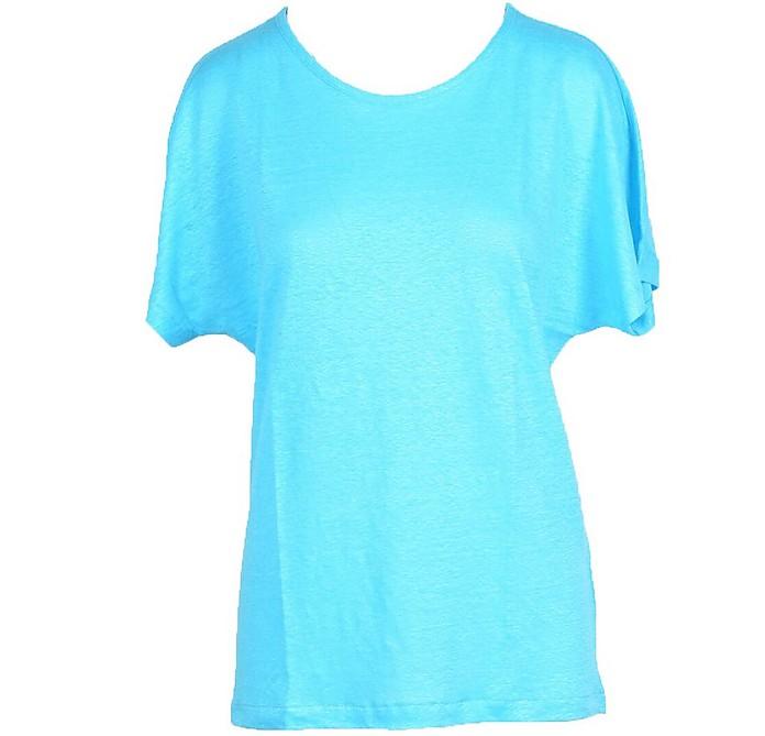 Women's Sky Blue T-Shirt - Gran Sasso