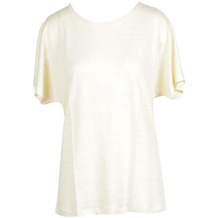 Women's Cream T-Shirt - Gran Sasso