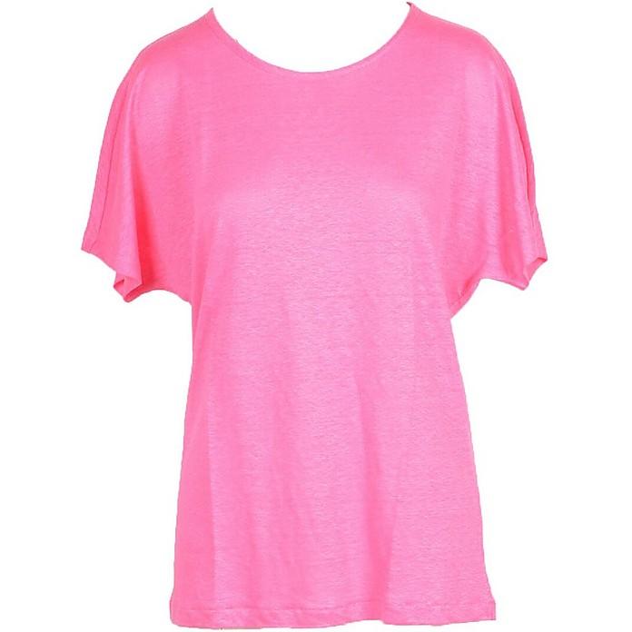 Women's Fuchsia T-Shirt - Gran Sasso