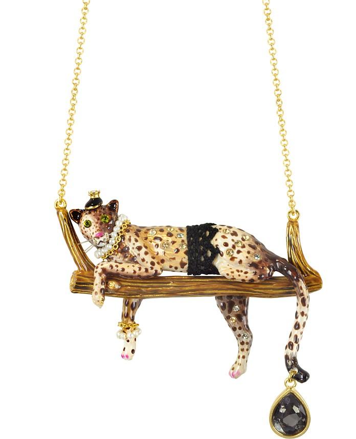 Princess Leopoldine Panther Necklace - N2