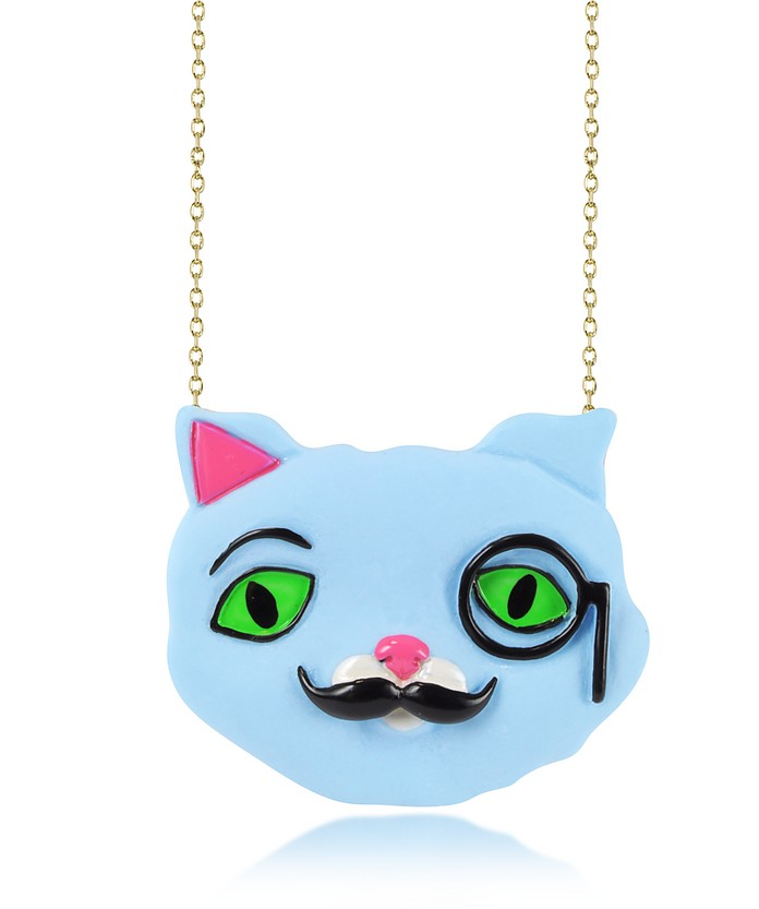 Plus qu'un Chat Igor Long Necklace - N2