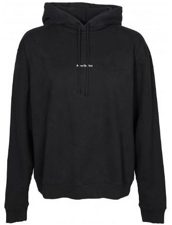 Black Cotton Women's Women's Sweatshirt - Acne Studios