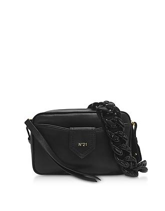 78a668de23 Black Leather Camera Bag - N°21