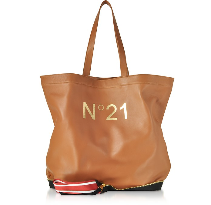 Caramel Big Foldable Shopping Bag - N°21